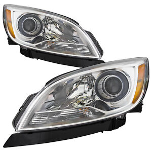 Headlights High Quality Capa Left And Right Pair Fits 2012 2017 Buick Verano