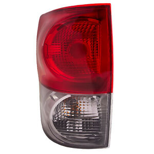 Fits 2007 2009 Toyota Tundra Driver Side Rear Tail Light New