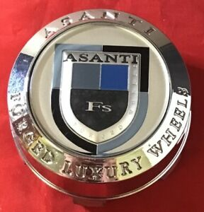 One Used Asanti Custom Wheel Center Cap Chrome Finish Pv Cap Lexani 7831