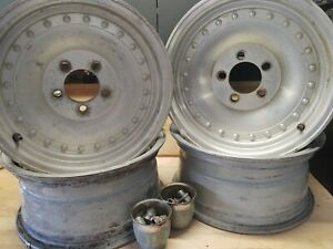 Centerline Wheels 15x7 Used Set Of Four Wheels