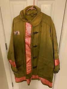 Morning Pride Size 50 Chest Firefighter Turnout Jacket Coat
