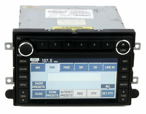 2008 09 Ford Mustang Am Fm Radio 6 Disc Cd Mp3 Player Navigation 8r3t 18k931 Ea