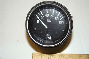 Sw 2 1 16 In Oil Pressure Gauge New