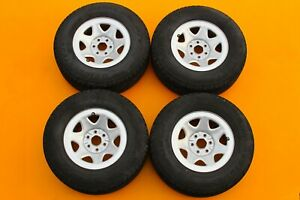 Chevy Gmc Sierra Silverado 1999 2017 17 Oem Set Of 4 Steel Wheels Rims 204