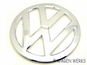 Vw Bus Emblem Chrome Type 2 Deluxe Bus 1955 To 1967