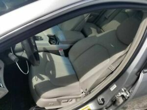 2013 14 Cadillac Cts Sedan Driver Left Front Seat Gray Leather Base