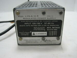 Lambda Lxs a 12 r 12v Regulated Linear Dc Power Supply
