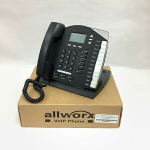Allworx 9112 Business Office Home Voip Ip Phone No Power Supply