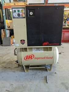 Used Ingersoll Rand 7 5 Hp Fixed Speed Rotary Screw Air Compressor