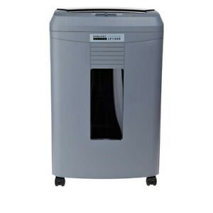 Embassy 9 sheet Microcut Paper Shredder With Auto Feed gray