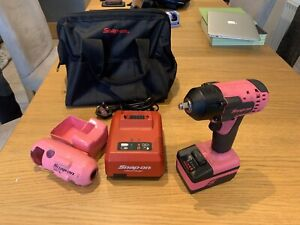 Snap On Tools Cordless 3 8 Drive 18v Impact Gun 1 Batterie And Charger