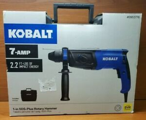 New Kobalt Sds plus 7 Amp Keyless Rotary Hammer Drill K7rh 03