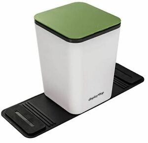 Portable Car Trash Can Bin Waterproof Plastic With Lid Organizer For Vehicles