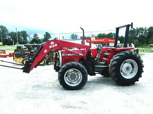 Massey Ferguson 383 4x4 Loader free 1000 Mile Delivery From Ky