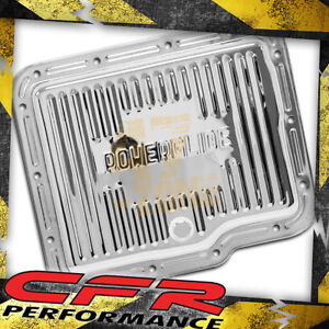 Chevy Gm Powerglide Steel Transmission Pan Chrome