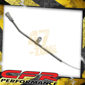 Chrysler Dodge Mopar Big Block Engine Oil Dipstick Chrome W Billet Al Handle