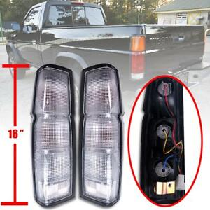 For 86 97 Nissan Hardbody Frontier D21 Pickup Tail Rear Tail Light Fit Usa Model