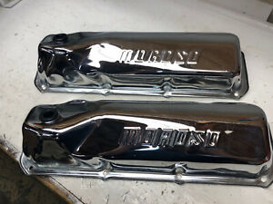 Ford 351 Cleveland Chrome Moroso Valve Cover Valve Covers 351c