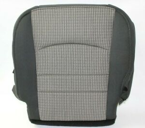 2009 2010 2011 2012 Dodge Ram 1500 2500 3500 Slt Driver Bottom Seat Cover Gray