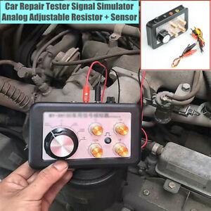 12v Car Repair Tester Guage Signal Simulator Analog Adjustable Resistor Sensor