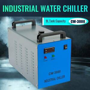 Industrial Water Chiller For 50w 60w 70w 80w 100w Co2 Laser Engraver Tubes lab