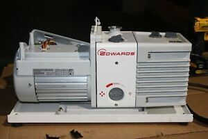Edwards Vacuum Rv8 Rotary Vane Roughing Electric Pump