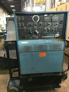 Miller 300 Amp Syncrowave 300 Ac dc Tig stick Welder Power Source W coolmate Car