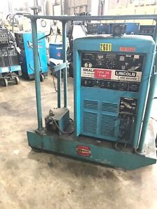 Lincoln Idealarc Tig 300 300 300 Amp Ac dc Tig stick Welder Power Source Tank