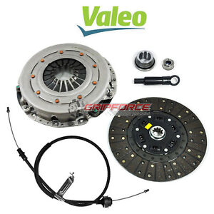 Valeo King Cobra Motorcraft Hd Clutch Kit W Cable 86 95 Ford Mustang Gt 5 0l