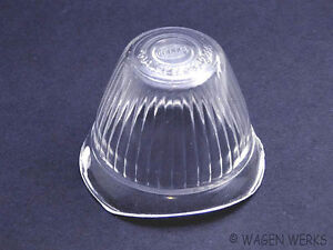 Vw Bus Turn Signal Lens Type 2 1955 To 1961 Clear Hella