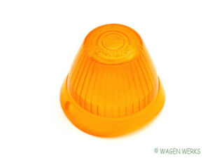 Vw Bus Turn Signal Lens Type 2 1955 To 1961 Amber Hella