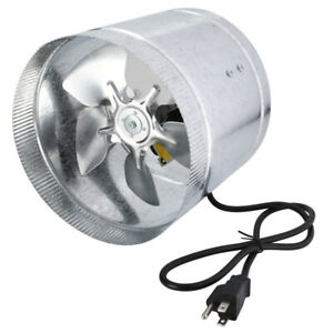 Ipower 4 6 8 Inch Inline Duct Booster Fan Ventilation Exhaust Air Blower