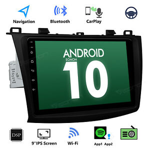 Us 9 Android 10 For Mazda 3 10 13 Car Video Stereo Gps Sat Navi Radio Head Unit