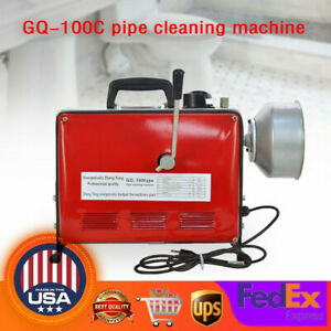 3 4 6 Electric Spiral Pipe Drain Cleaner Cleaning Machine Sewage Dreger