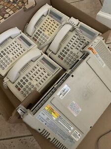 Lucent Avaya Partner Acs R6 Office Phone System W 4 White 18d Phones