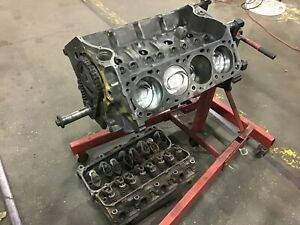 1975 Ford 460 Long Block D1ve 6015 A2 Stock Bore We Ship Date Code 5e14