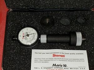 New Starrett Dial Countersink Gage Gauge 0 560 0 780 0 002 82 Degree Angle