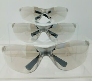 3 Pairs Radians Safety Glasses Anti fog Uv Tinted Clear Lens At1 90