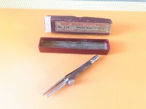 Vintage Starrett No 118 Spacing Center Punch Made In The Usa