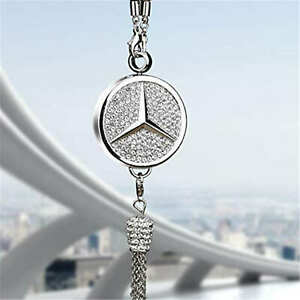 Car Perfume Pendant High end Car Review Mirror Hanging Jewelry For Benz Car