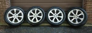 4 2020 Factory Ford Explorer St 21 Oem Polished Wheels Tires new Demo