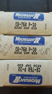 Nos Michigan 77 Ford V8 Fe 360 390 428 Engine Connecting Rod Bearing Cb 760p 30