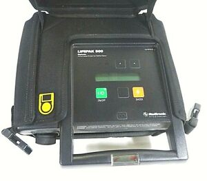 Medtronic Physio control Lifepak 500 Biphasic Aed Free Shipping