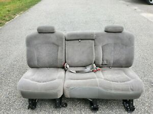 2002 Chevy Suburban Middle Row Seating