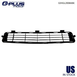 Fit For 2010 2011 Toyota Camry Le Xle Front Bumper Lower Grille Grill Black