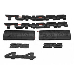 2014 2020 Toyota Tundra Blackout Emblems Replacement Kit Oem Pt948 34181 02