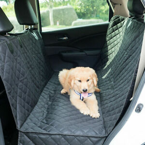 Waterproof Pet Dog Rear Back Seat Cover Bench Protector Hammock For Cars Suv