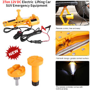 3ton 12v Dc Electric Jack Lifting Car Suv Emergency Equipment