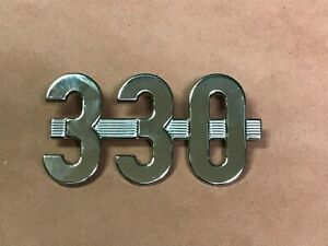Ih International Harvester 330 Emblem Ih 368491r1