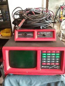 Snap On Counselor Digital Oscilloscope Mt1665 With Cords And Book